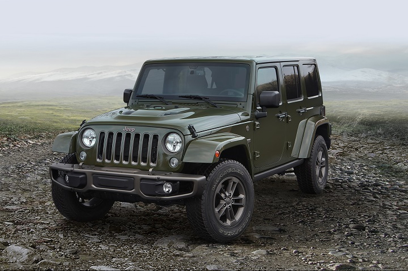 75th Anniversary Jeeps Look Awesome