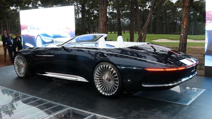 PHOTOS - La Vision Mercedes-Maybach 6 Cabriolet à Pebble Beach