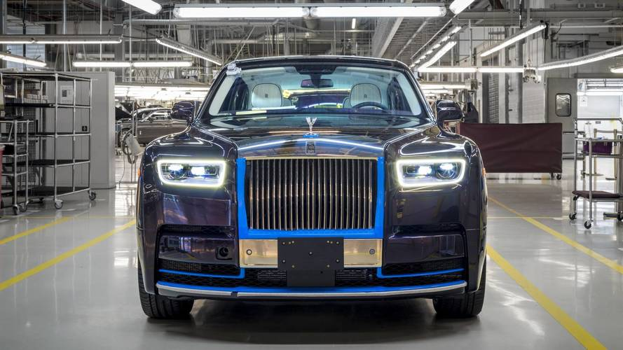 Première Rolls-Royce Phantom 2018 produite enchères