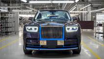 First produced 2018 Rolls-Royce Phantom goes on auction