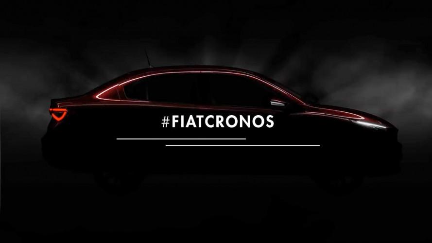 Fiat Cronos, il primo video teaser della berlina sudamericana