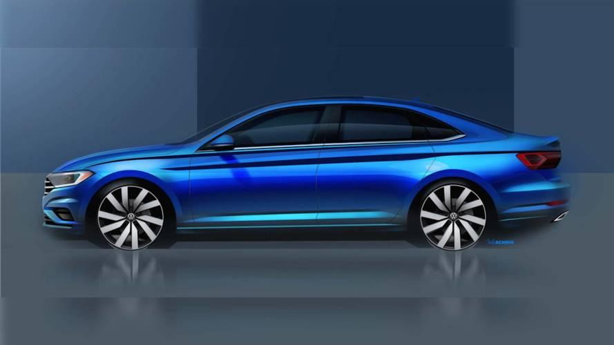 VW Teases Sleek New Jetta Ahead Of Detroit Auto Show Debut