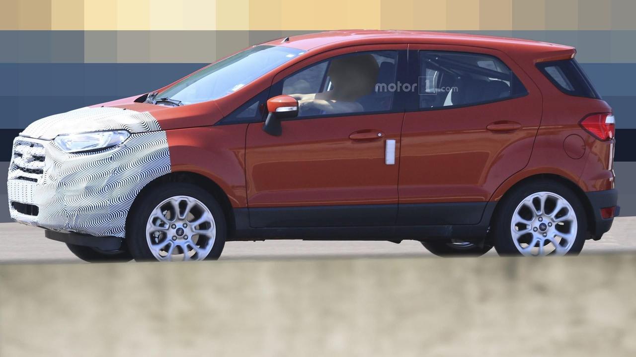 2018 Ford EcoSport spy photo