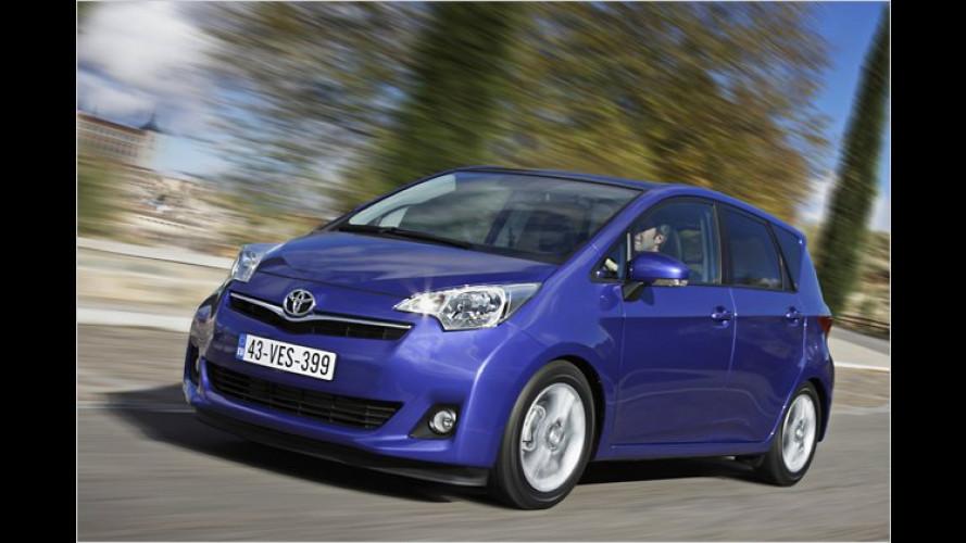 Minivans: Jetzt mischt Toyota bei den Kleinen wieder mit
