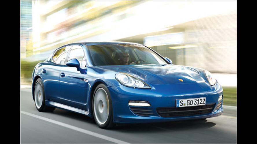 Porsche Panamera S Hybrid: Weltpremiere in Genf