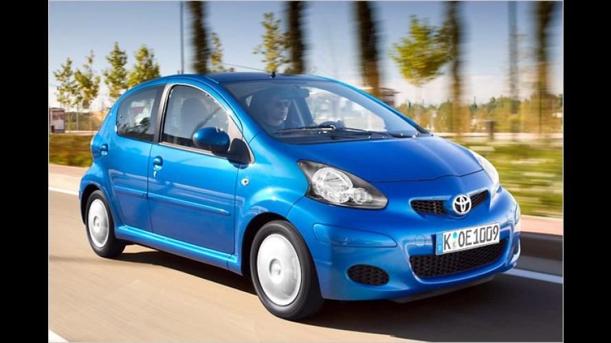 Toyota-Herbstaktion: Aygo, Yaris und Auris billiger