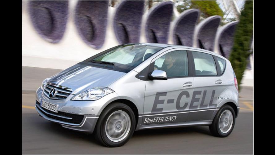 Baby-Benz mit Batterien: Elektro-A-Klasse im Test