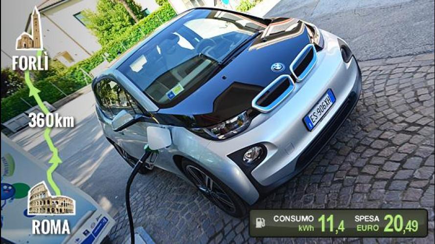 BMW i3 REx, la prova dei consumi