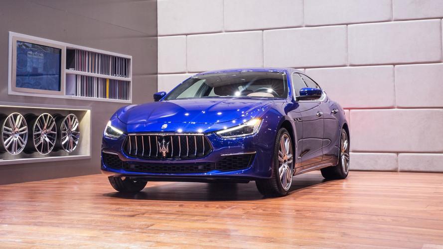 La Maserati Ghibli restylée prend la pose en Chine