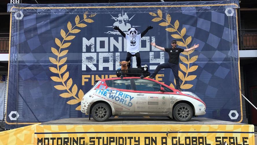 Sikeresen teljesítette a Mongol Ralit az elektromos Nissan Leaf