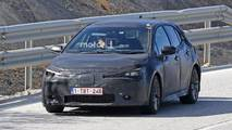 Toyota Auris Corolla Spy Shots