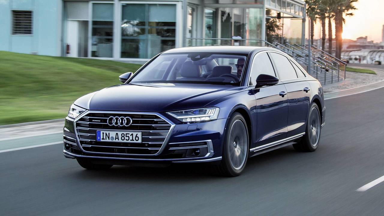 2019 audi a8 first drive photos. Black Bedroom Furniture Sets. Home Design Ideas
