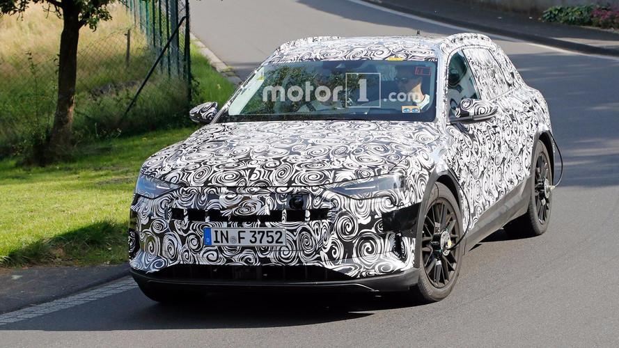 Audi Spied Testing E-Tron Quattro EV CUV At Nürburgring