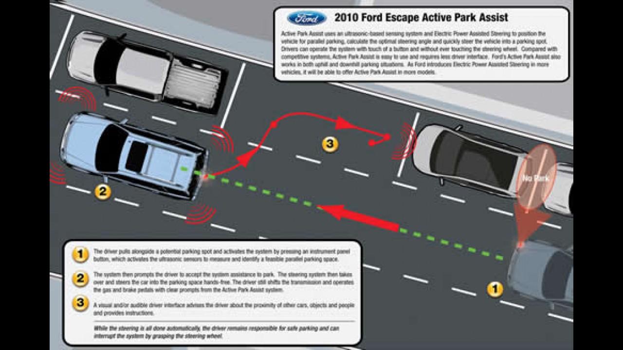 Ainda mais seguro: Linha 2010 do Ford Escape ganha mais itens de segurança