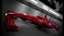 F1 Ferrari Concept by Csaba Kiss