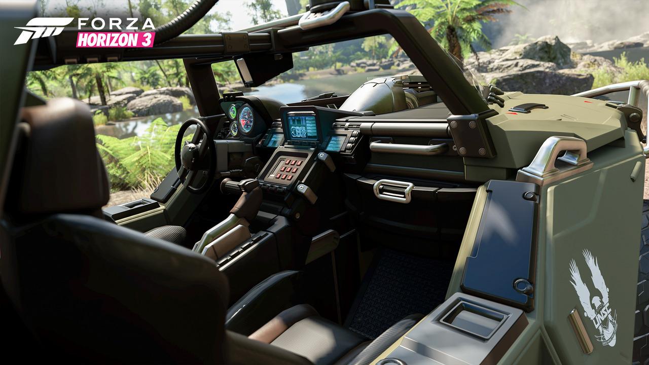 Halo Warthog, Forza Horizon 3'te
