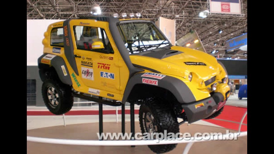 Salão do Automóvel 2008 - Jipe Stark com motor Fiat 2.3l DTI chega por 85mil
