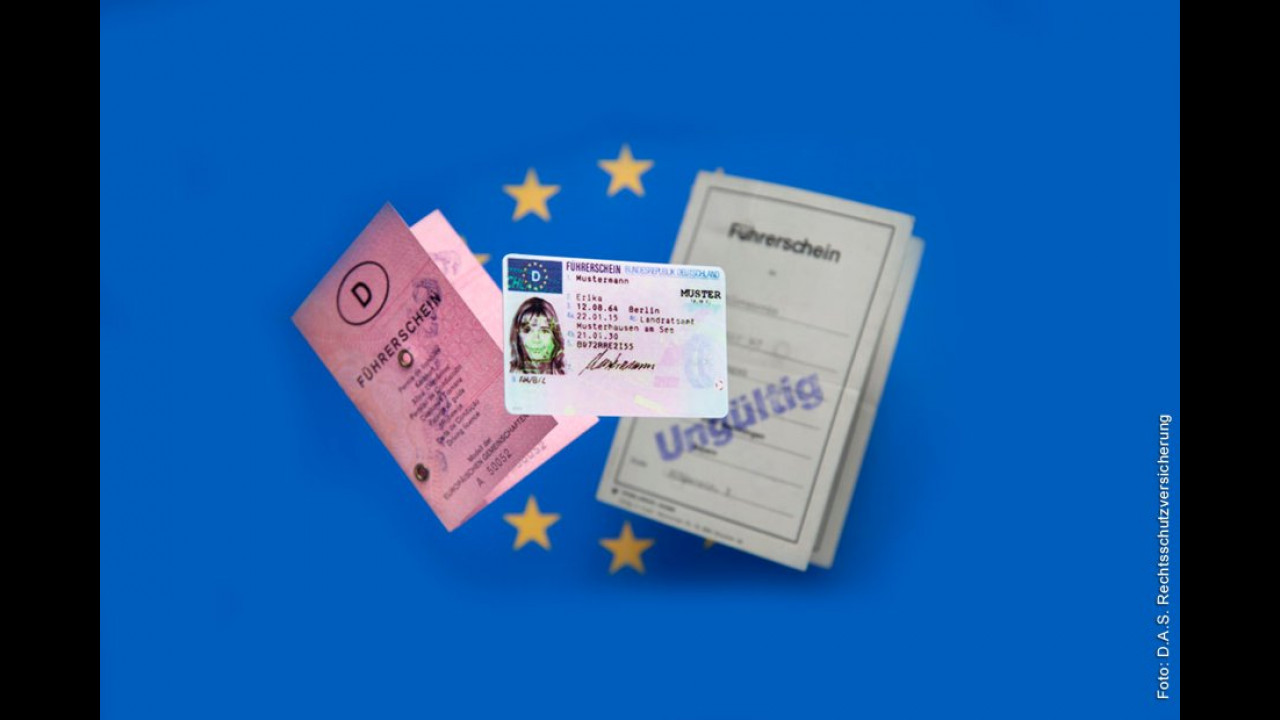 Neuer EU-Führerschein