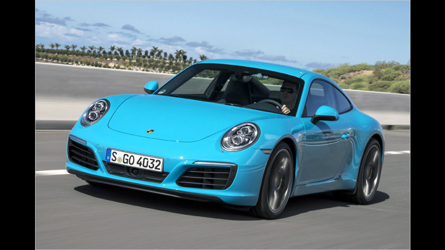 Porsche 911 Carrera Facelift im Test