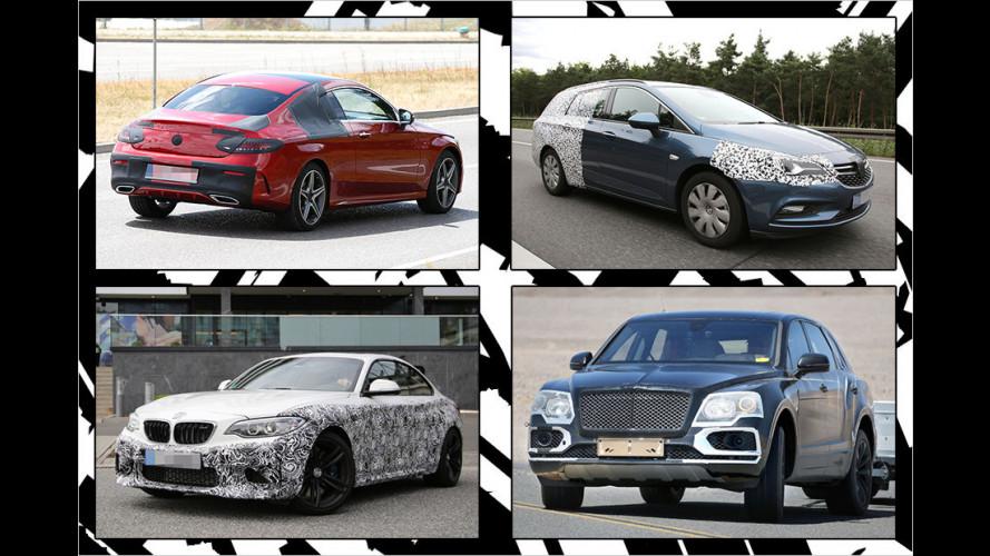 Ertappte Erlkönige: Hier fährt die automobile Zukunft
