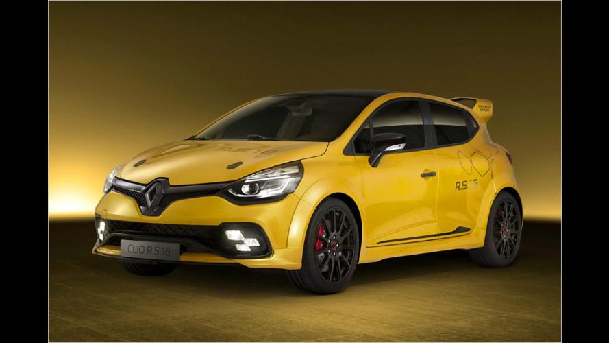 Renault Clio R.S.16: Kleine Turbo-Bombe