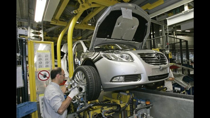 Opel deverá reduzir produção em 10% neste ano
