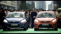 Ford Focus deve ganhar facelift em breve no Brasil - Flagra na Argentina revela visual chinês