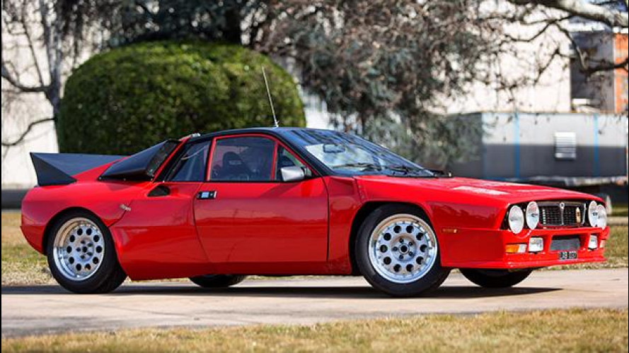 Lancia Rally 037, all'asta il prezioso prototipo