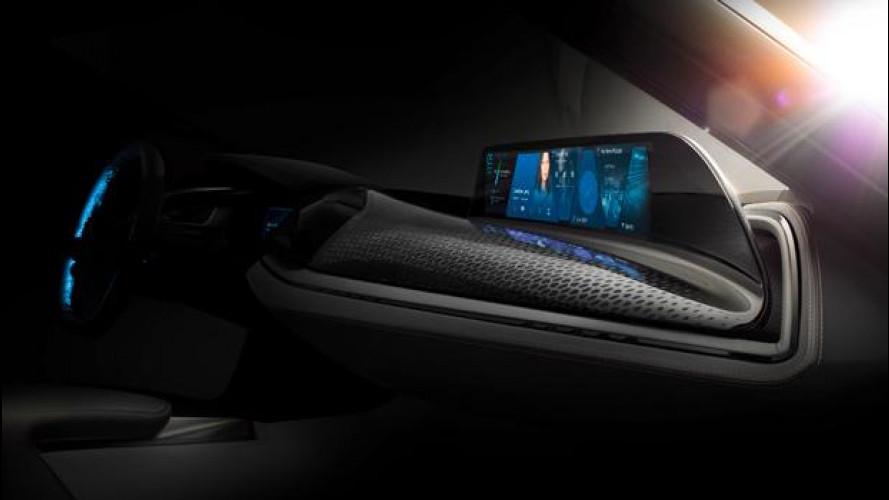 BMW AirTouch, lo schermo si comanda a gesti