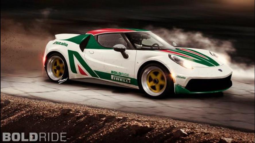 Lancia Stratos Concept, un nuovo modello su base Alfa 4C?