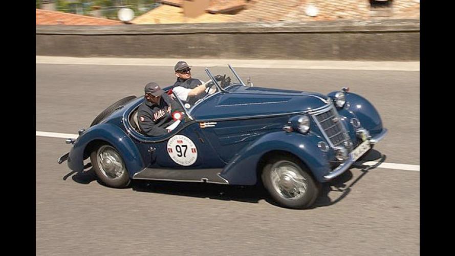 Thomas Gottschalk fährt bei der Mille Miglia 2007 mit