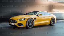 Mercedes-AMG GT Sedan render