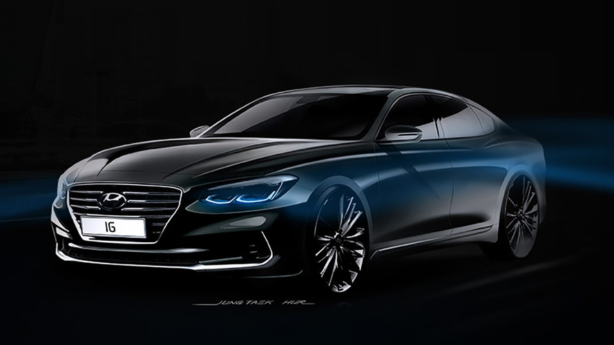 2017 Hyundai Grandeur teaser
