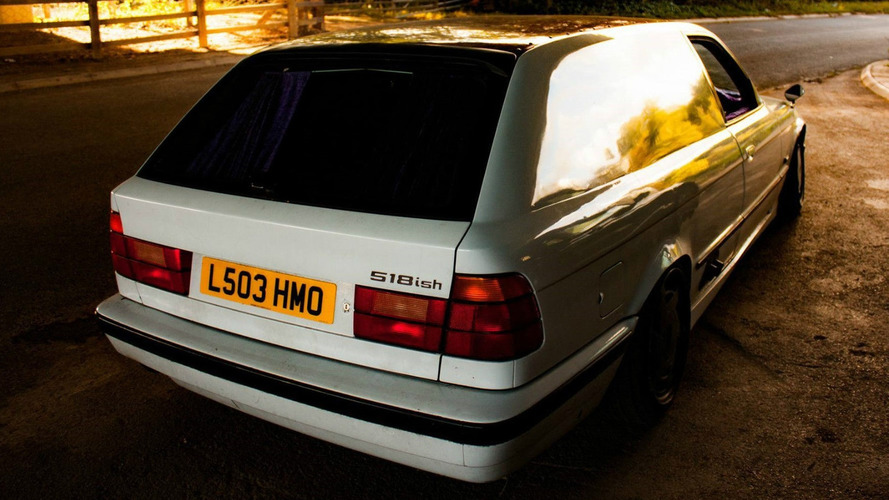 Mor kürklü bu BMW 5 serisine inanamayacaksınız