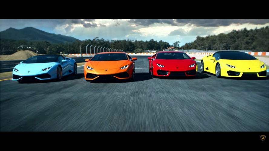 Lamborghini Huracan'ın zamana karşı yarışı