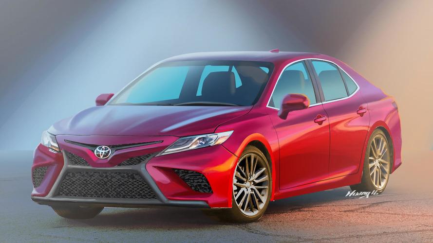 Yeni Toyota Camry böyle mi görünecek?
