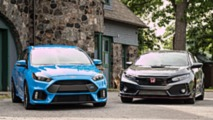 2016 Ford Focus RS vs. 2018 Honda Civic Type R