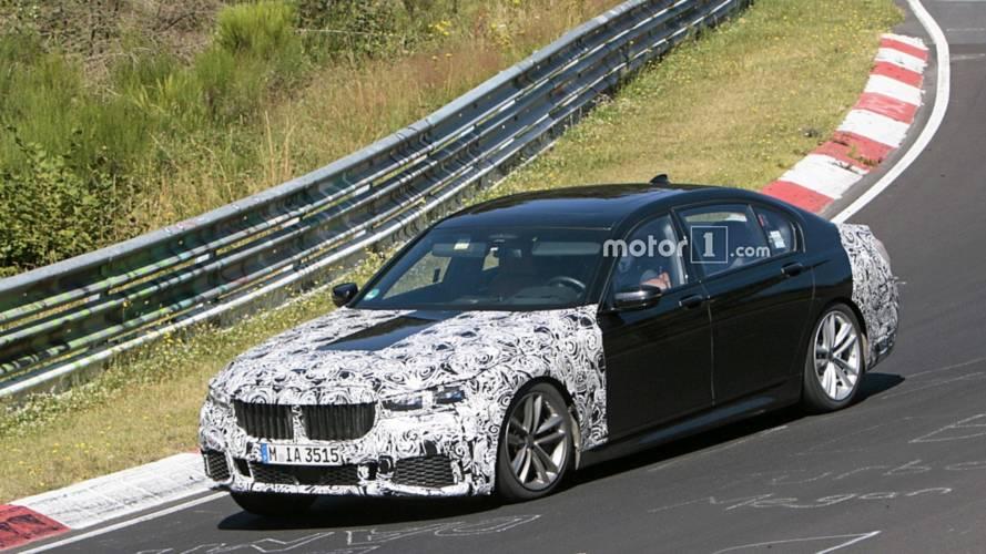 Makyajlı 2019 BMW 7 Serisi casus kameralara yakalandı