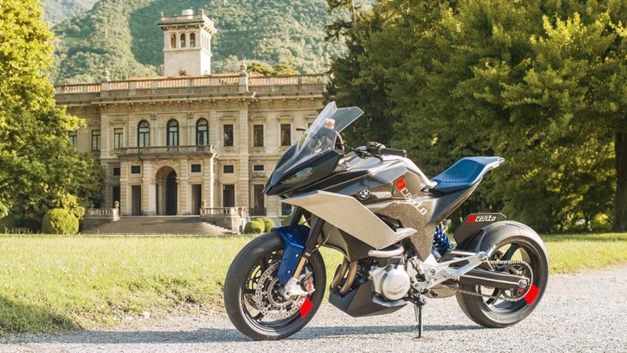 """BMW Motorrad, """"9cento"""" adlı konsept motosikletini tanıttı"""