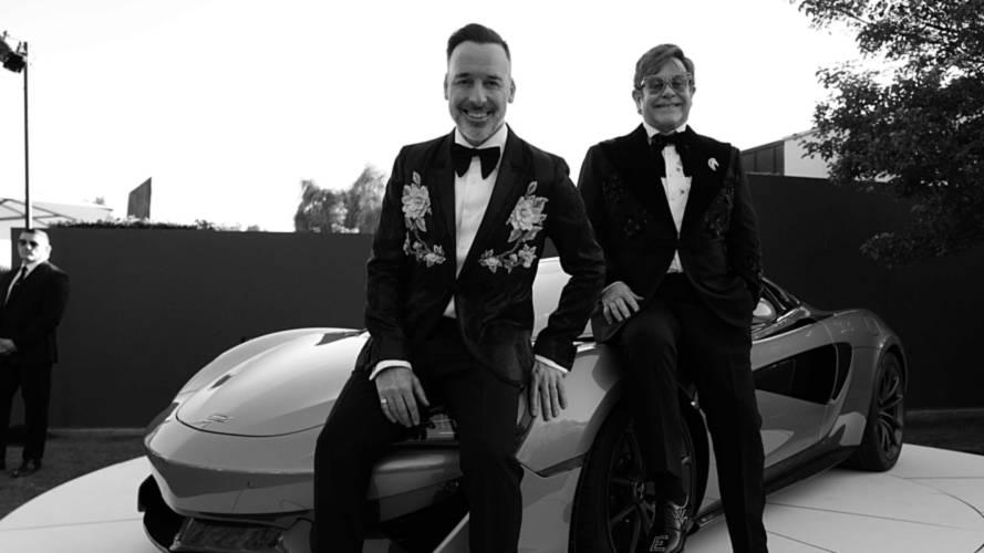 Donated McLaren 570S Spider sells for £725k at Elton John's charity
