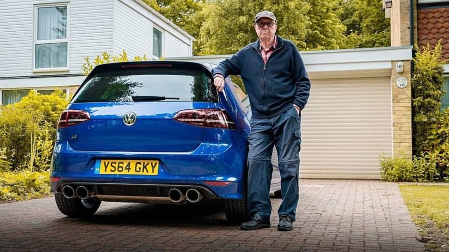Un hombre de 75 años, dueño de un VW Golf R de 600 CV