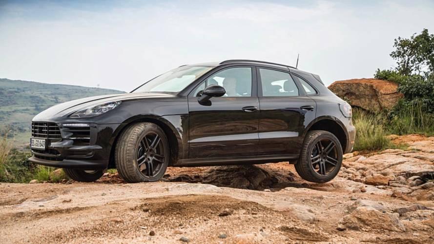 Últimas pruebas del Porsche Macan 2018, en Sudáfrica, antes de su llegada
