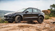 Porsche Macan'ın Afrika'daki Bazı Testlerinden Görüntüler
