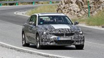 BMW 3 Series Electric spy photos