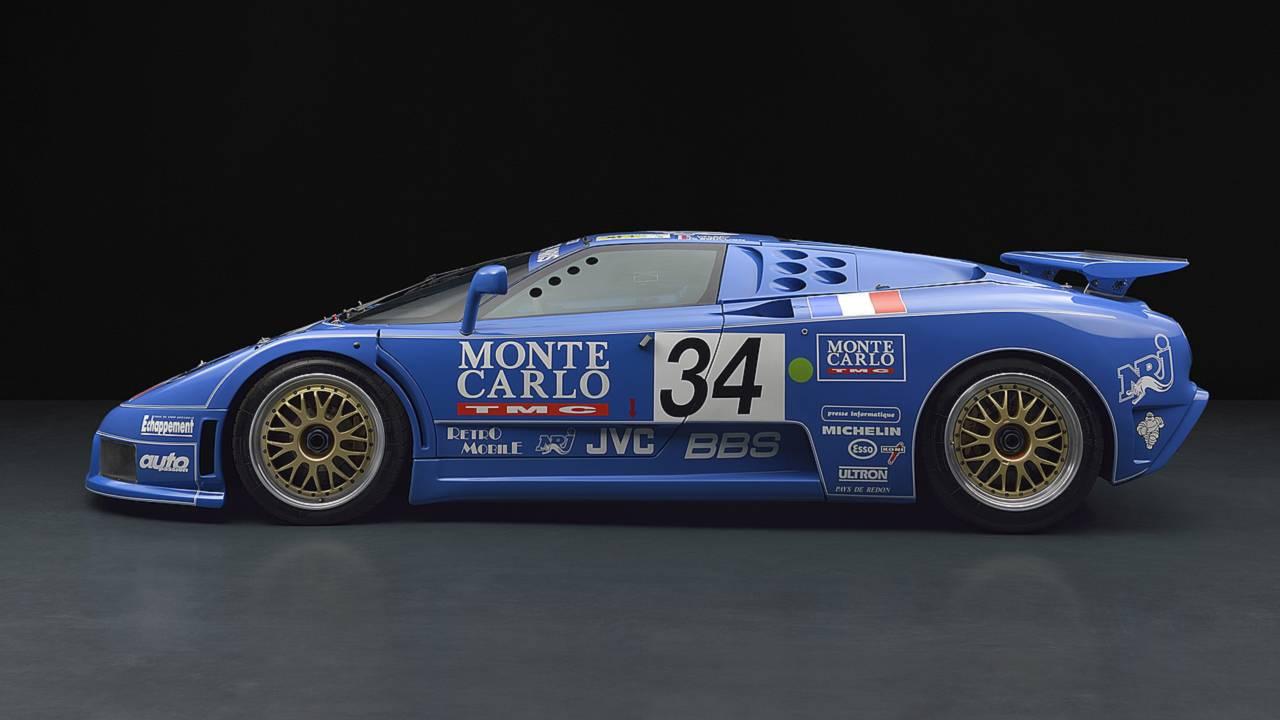Bugatti EB110 LM