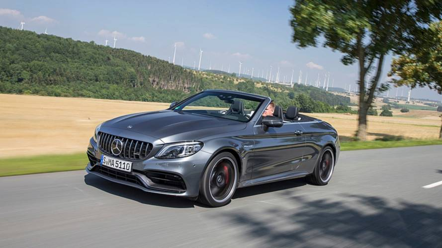 Mercedes-AMG C 63 S Cabriolet restyling