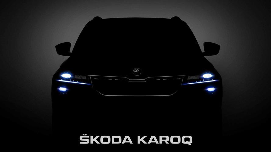 Teaser Skoda Karoq 2018