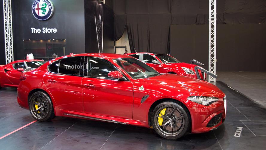 2017 İstanbul Autoshow'da Alfa Romeo Giulia rüzgârı