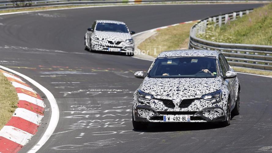 2018 Renault Megane RS nouvelles images espion