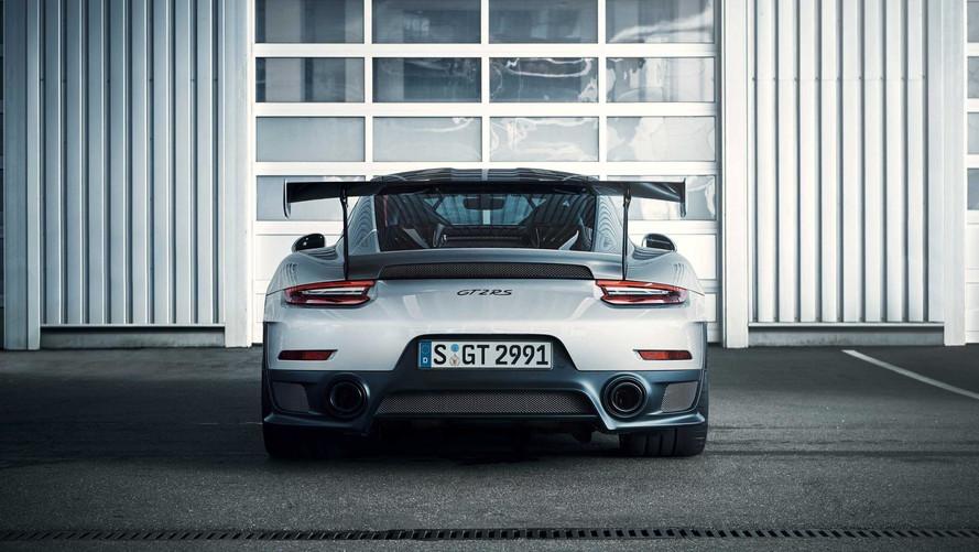 PHOTOS - La Porsche 911 GT2 RS et ses 700 chevaux